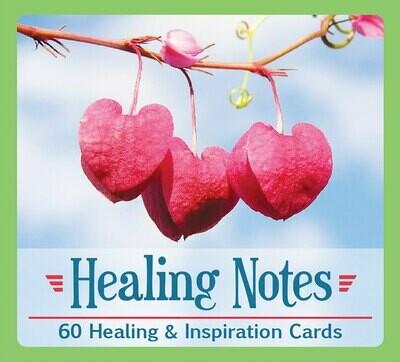 Healing Notes- 60 Healing & Inspiration Cards