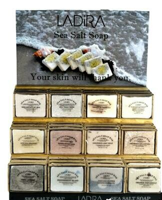LaDira Exfoliating Sea Salt Soaps