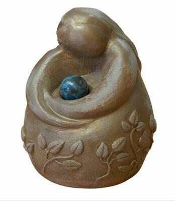 Gypsum Cement Tenderness Goddess Figurine