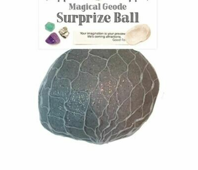 Magical Geode Surprise Ball with Crystals