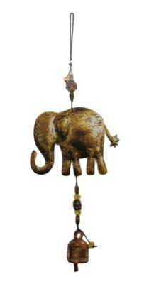 Evergreen Elephant Nana Bell Wind Chimes 19