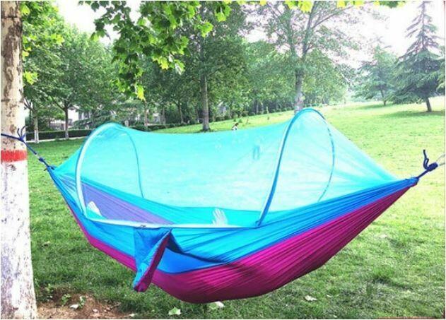 InstaPrep Camping Netted Hammock LockMesh Tent