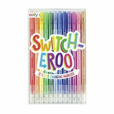 Switch-eroo Color Changing Marker Set, 12-Marker Set