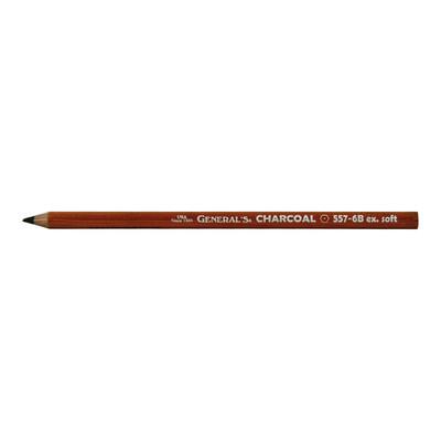 General's Charcoal Pencils, 6B