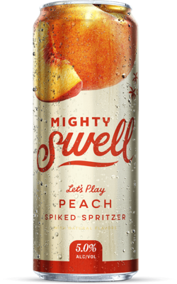 Might Swell Hard Seltzer - Peach