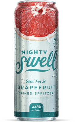 Mighty Swell Hard Seltzer Grapefruit - 1 CAN