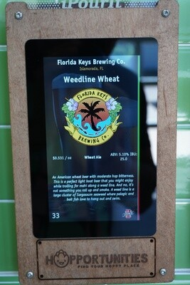 Florida Keys Brewing Co - Weedline Wheat -16 Ounce Crowler