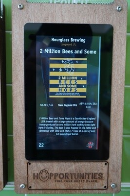 Hourglass Brewing - 2 Million Bees And Some Hops