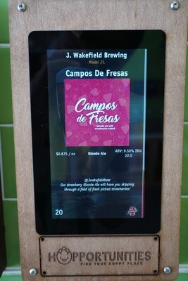 J. Wakefield Brewing - Campos De Fresas - Imperial Blonde Ale