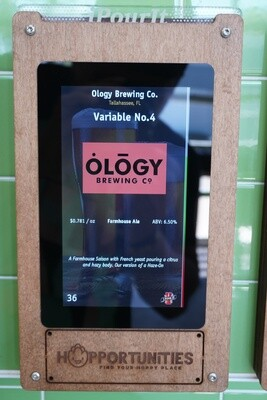 Ology Brewing Co - Variable #4 - Farmhouse Ale - Saison - 16 Ounce Crowler
