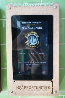 Pareidolia Brewing Company - Slow Paddle Porter - 16 Ounce Crowler