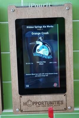 Hidden Springs Ale Works - Orange Crush - Wheat Beer - American Pale Wheat - 16 Ounce