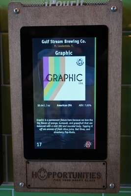 Gulfstream Brewing Graphic IPA - 16 Ounce Crowler