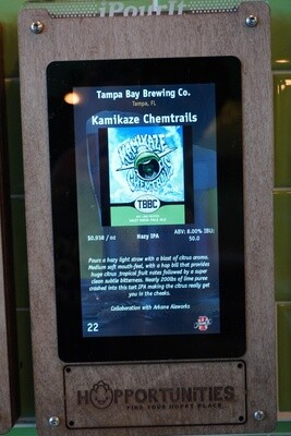 Tampa Bay Brewing Company (Collab w/ Arkane Aleworks) - Kamikaze Chemtrails - Hazy IPA