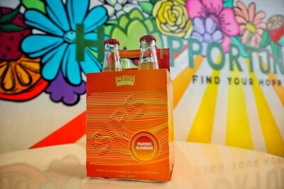 Parish SIPS Sunrise - 4 Pack Bottles