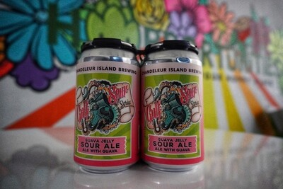 Chandeleur Island Brewing Company - Guava Jelly - 4 Pack 12 oz cans