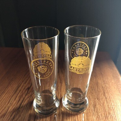 LBC/Willibrew Collab Glass