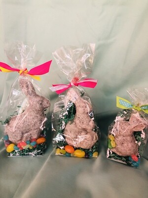 Solid Chocolate Cookies & Cream Bunnies