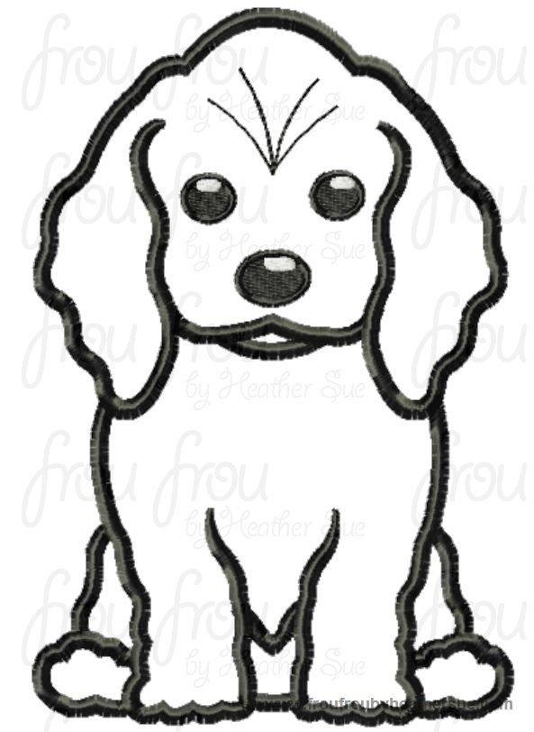 Puppy Dog Breeds Twenty Six Design Set Machine Applique Embroidery