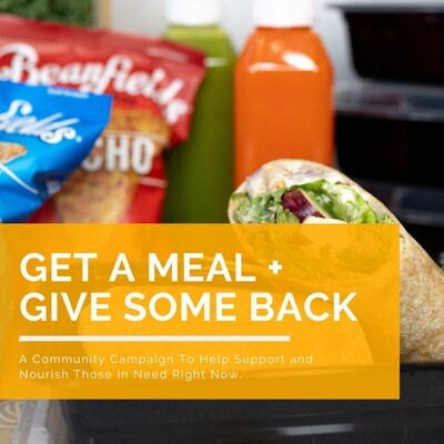 Get A Meal + Give Some Back