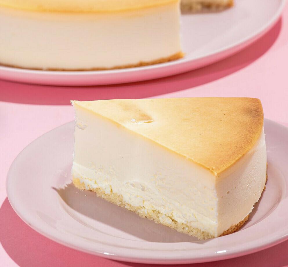 Extra Tall Slice NY Cheesecake