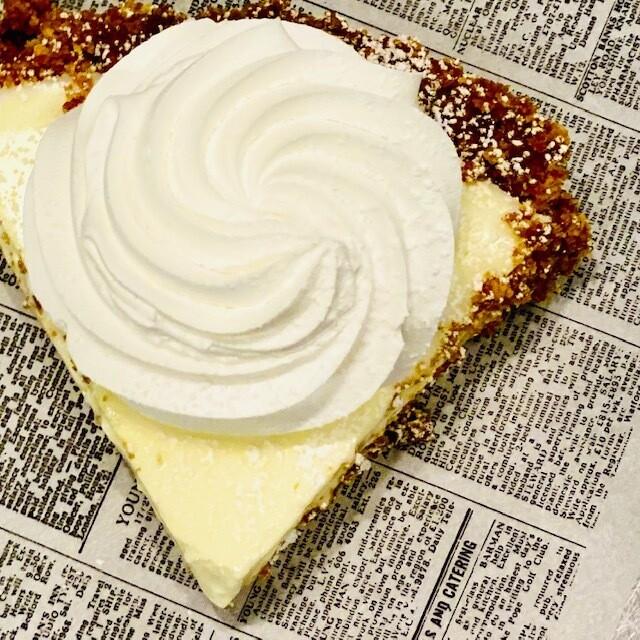 Key Lime Pie Slice
