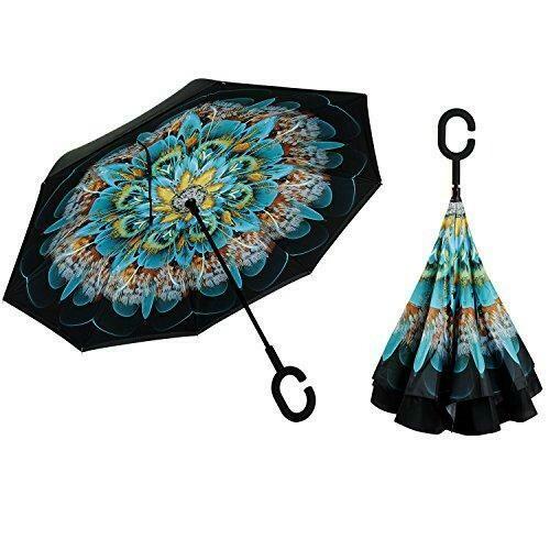 Inverted umbrella Peacock