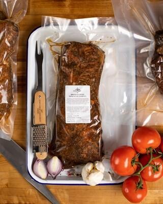 BBQ kiaulienos šonkaulių gaminys, kg