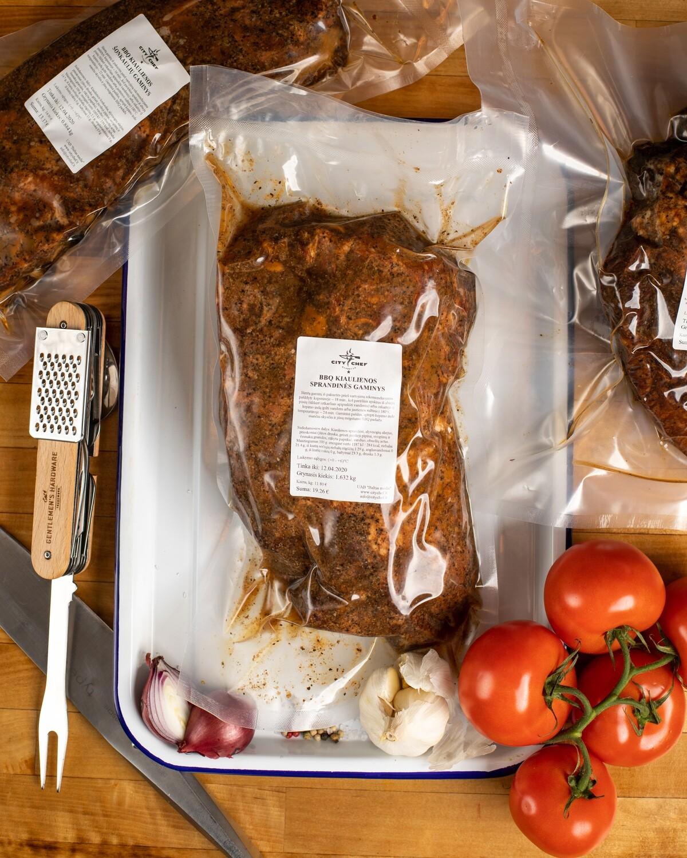 BBQ kiaulienos sprandinės gaminys, kg