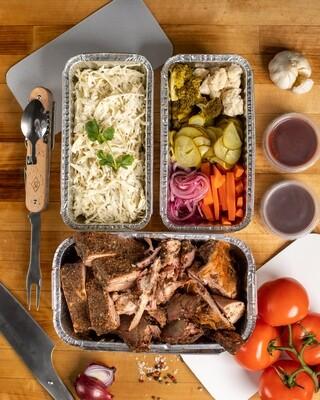 Mėsų padėklas keturiems