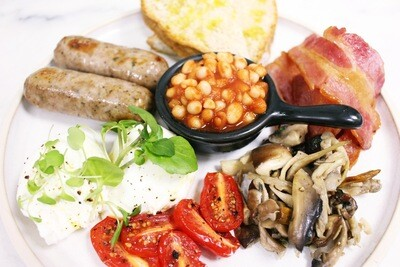 Full English Breakfast (Gluten Free)