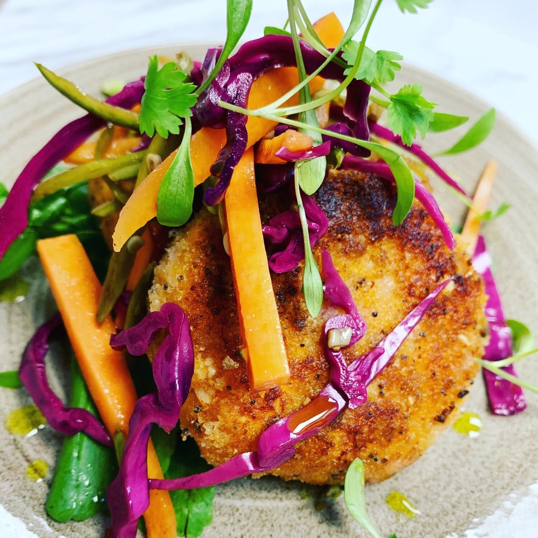 Salmon and Potato Fishcakes (Gluten Free)