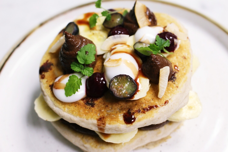 Breakfast Pancakes (Vegan, Gluten Free)