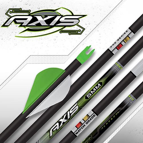 Easton Axis 5mm Match Grade Arrow Shafts 34795