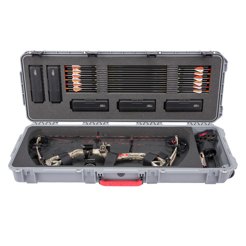 SKB Pro Series 4214-5 Single Bow Case w/ Quiver Storage