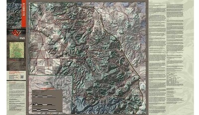 Flatline Maps Arizona Hunt Unit 17A