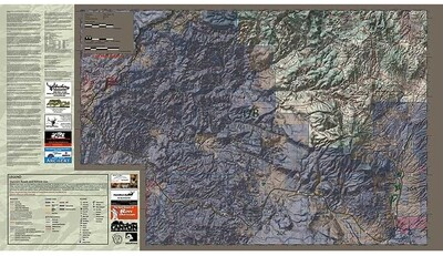 Flatline Maps Arizona Hunt Unit 17B