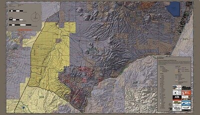 Flatline Maps Arizona Hunt Unit 36A