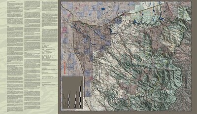 Flatline Maps Arizona Hunt Unit 3C