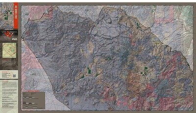 Flatline Maps Arizona Hunt Unit 20C