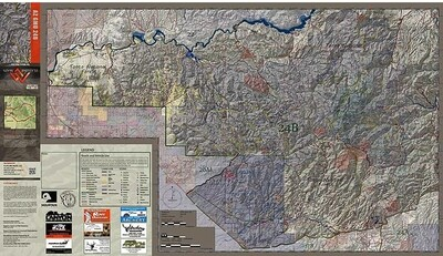 Flatline Maps Arizona Hunt Unit 24B