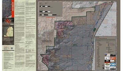 Flatline Maps Arizona Hunt Unit 36C