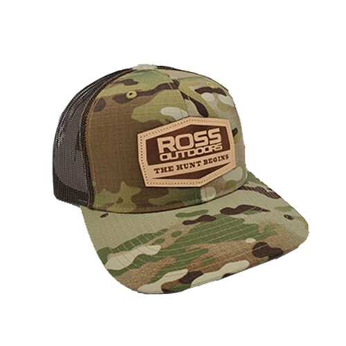 Ross Outdoors MULTICAM Snapback