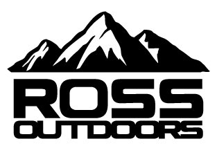 Ross Outdoors Mountain Decal