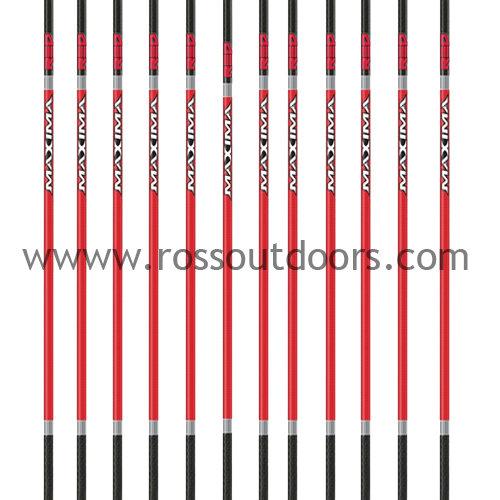 Carbon Express Maxima Red Arrow Shafts
