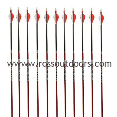 Carbon Express Maxima Red Arrows Fletched