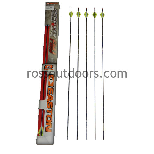 Easton Full Metal Jacket Inejxion 4mm 6 Pack Arrows 34460