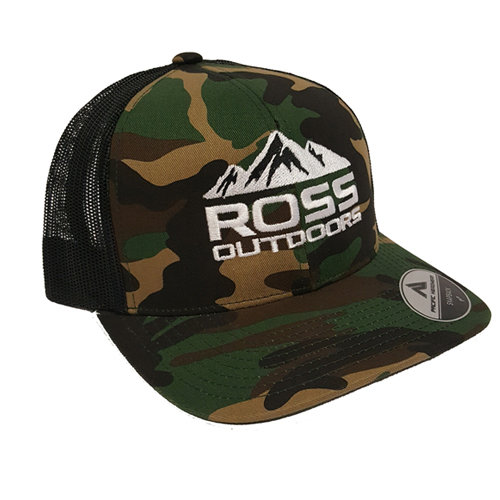 Ross Outdoors Camo Snapback 34495