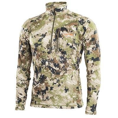 Sitka Core Midweight Zip-T  Optifade Subalpine
