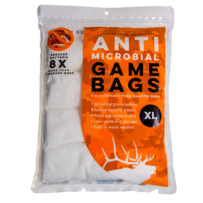 Koola Buck Anti-Microbial Elk Quarter Game Bags